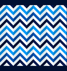 navy blue and white chevron pattern vector image