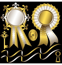 Silk awards vector
