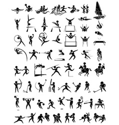 Icon design for many type of sports vector