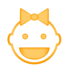 Baby icon sign vector