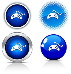 Gamepad buttons vector