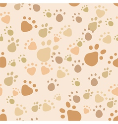 Pet legs seamless vector image vector image