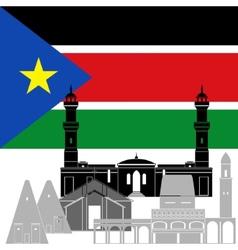 Southern sudan vector