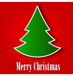 Christmas Tree Background EPS10 vector image