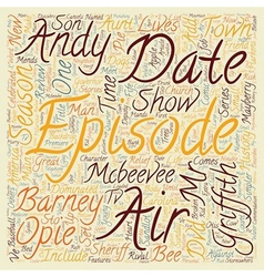 The Andy Griffith Show Season 3 DVD Review text vector image
