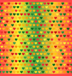 Heart pattern seamless background vector