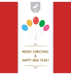 Mc and hny greeting card7 vector