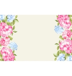 The flower pattern vector