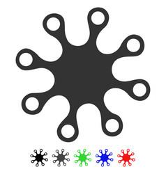 Axenic flat icon vector