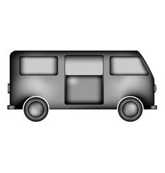 Minibus icon sign vector