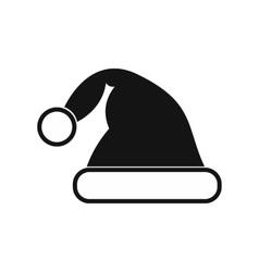 Santa hat simple icon vector image vector image