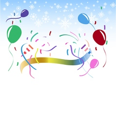 Colorful celebration party background vector