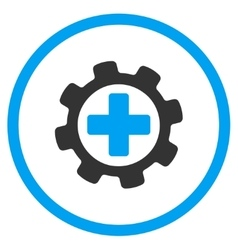 Medical tuning icon vector