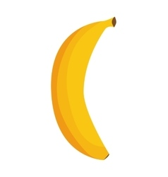 Banana fruit icon food design graphic vector