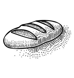 Cartoon image of bread icon bread symbol vector