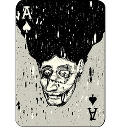 Playing cards All four aces two alternative ace of vector image vector image