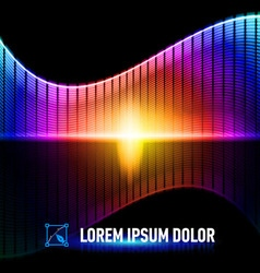 Color of music vector