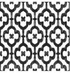 Black and white seamless pattern vector