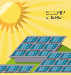 Concept releated with solar power vector