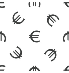 Euro pattern vector