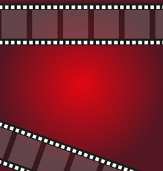 filmstrip frame background vector image