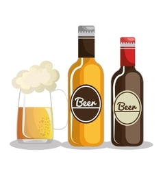 germany beer design vector image