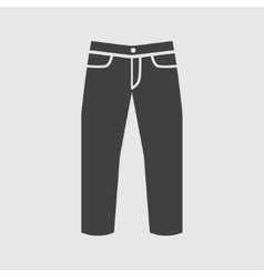 Jeans icon vector image vector image