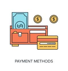 Payment methods vector
