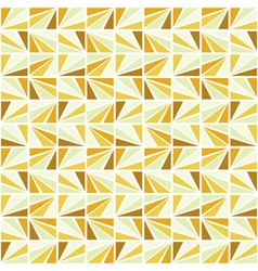 seamless retro mosaic pattern vector image vector image