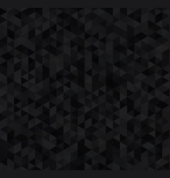 Deep dark triangles luxury seamless pattern vector