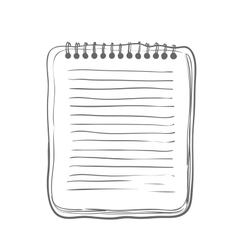 Sketch Notebook vector image