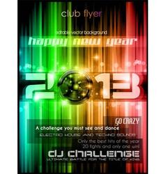 2013 new year celebration background vector