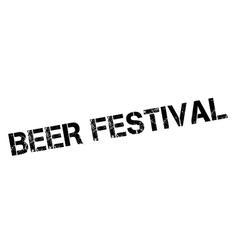 Beer festival rubber stamp vector