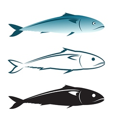 image of an mackerel design vector image vector image