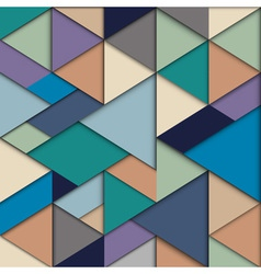 Origami background vector image vector image
