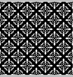 Fleur-de-lis seamless pattern vector