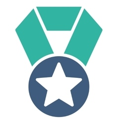 Champion medal icon from competition  success vector