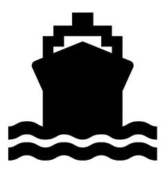 Ship symbol vector