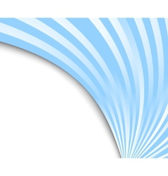abstract blue ray background vector image