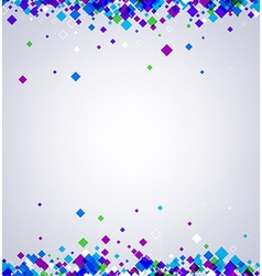 Background with colour rhombs vector