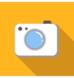 Camera colored flat icon vector