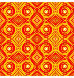Design seamless colorful geometric pattern vector image vector image