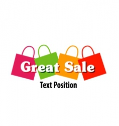 great sale vector image vector image