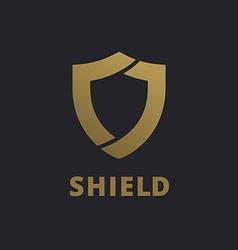 Shield logo icon design template elements vector