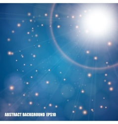 Abstract star light background vector