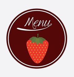 Food design over white background vector