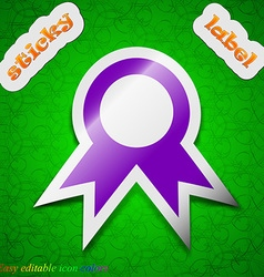 Award prize for winner icon sign symbol chic vector