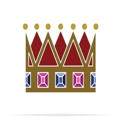 Crown icon3 vector