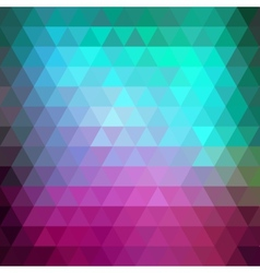 Abstract retro hipster geometric background vector