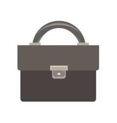 briefcase icon business bag black case design vector image vector image